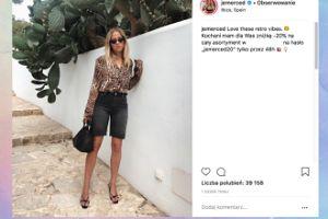 """""""Drapieżna"""" Jessica Mercedes chwali się stylizacją w stylu vintage"""