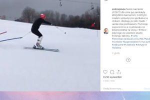 Andrzej Duda wspomina swoje szusy na stoku