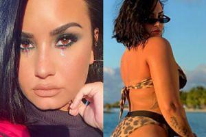 """Ciałopozytywna Demi Lovato pokazuje dorodne pośladki. """"TO JEST CELLULIT!"""""""