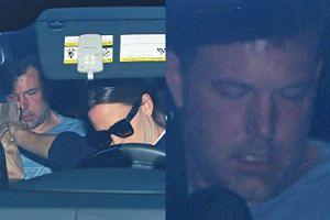 Jennifer Garner odwiozła Afflecka na odwyk! Przyniosła mu biblię i fast foody... (ZDJĘCIA)