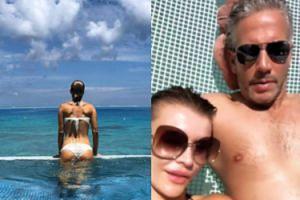 Gorący miesiąc miodowy Joanny Krupy. Gwiazda wybrała się z mężem na Bora-Bora