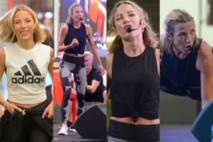 Spocona Ewa Chodakowska motywuje fanki do walki o płaski brzuch i zgrabne uda (ZDJĘCIA)