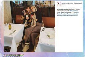 Ania Lewandowska wróciła do Monachium