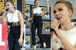 Scarlett Johansson pochwaliła się 11-karatowym pierścionkiem zaręczynowym za ponad 1,5 miliona złotych! (ZDJĘCIA)