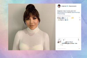 """""""Odmłodzona"""" Kris Jenner chwali się makijażem"""