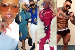 """Poznajcie nową """"Królową Życia"""", modelkę tatuaży i amatorkę tureckiej chirurgii plastycznej - Lalunę Unique i jej narzeczonego Gabryela (ZDJĘCIA)"""