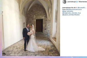 Ślub Joanny Krupy. OTO JEJ SUKNIA!