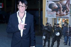 Niepoczytalny działacz pro-life sądzi się z Maleńczukiem. Jego sprawę umorzono