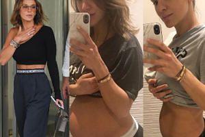 """Sara Boruc pokazuje brzuch godziny przed i tydzień po porodzie. """"A co, pochwalę się trochę"""" (FOTO)"""