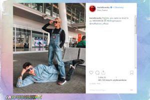 Zmęczeni Maffashion i Kwiatkowski pozdrawiają z lotniska