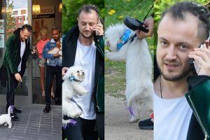 Baron zabrał psa Wieniawy do salonu Żony Hollywood (ZDJĘCIA)