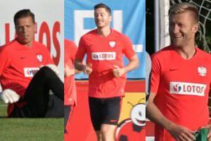 Odświeżona polska reprezentacja trenuje przed meczem z Włochami (WIDEO)