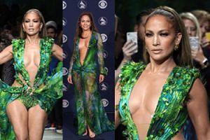 Jennifer Lopez paraduje na pokazie Versace w replice sukni sprzed niemal 20 lat! (WIDEO)
