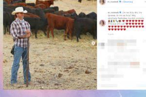 Małgonia wspomina kowbojskie wyczyny Radzia z okazji jego urodzin