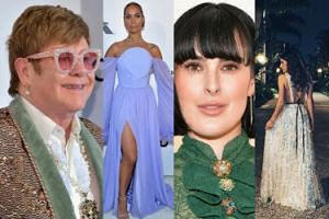 Oscary 2019: Gwiazdy na imprezie Eltona Johna: Weronika Rosati, Jane Seymour i Heidi Klum z partnerem (ZDJĘCIA)
