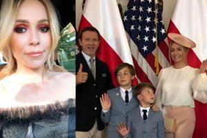 Doda i Małgonia z mężami na jednej imprezie. Poszły na raut do ambasady USA (FOTO)