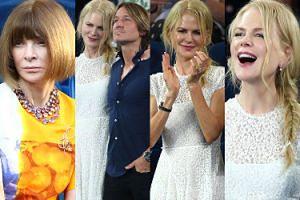 Podekscytowana Nicole Kidman zabrała męża i torebkę za 16 tysięcy na półfinały Australian Open (ZDJĘCIA)