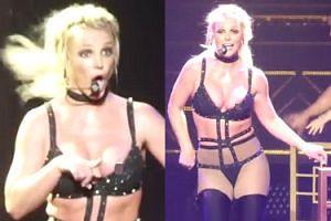 Britney Spears WYSKOCZYŁ SUTEK w trakcie występu (FOTO)
