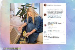 Bujakiewicz znowu chałturzy na Instagramie