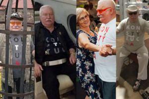 Przełomowe momenty, w których Lech Wałęsa wystąpił w koszulce z KONSTYTUCJĄ (ZDJĘCIA)