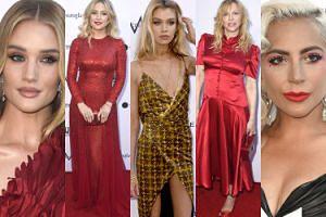 Gwiazdy i modelki bawią się na rozdaniu nagród: Courtney Love, Kate Hudson, Lady Gaga... (ZDJĘCIA)