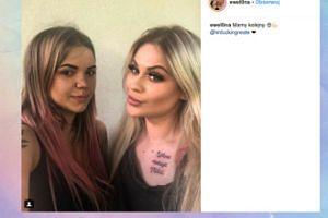 Ewel0na pokazała nowy tatuaż