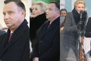 Rozśpiewana para prezydencka świętuje Trzech Króli w Wadowicach (FOTO)