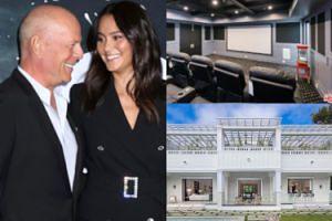Bruce Willis kupił willę za 10 milionów dolarów! Mamy zdjęcia posesji: prywatne kino, mini-aquapark i siedem sypialni (ZDJĘCIA)
