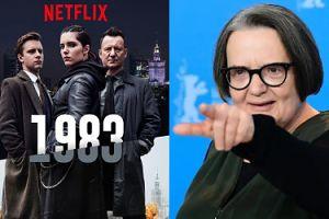 """Holland ordynarnie do krytyków serialu """"1983"""": """"WY SIĘ BRANDZLUJECIE TYM HEJTEM"""""""
