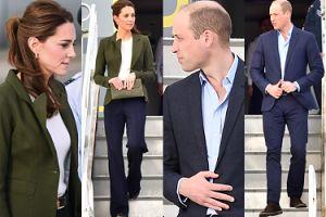 Elegancka Kate Middleton W SPODNIACH wspiera żołnierzy na Cyprze (ZDJĘCIA)