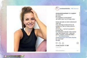 Ania Lewandowska ociepla wizerunek na Instagramie