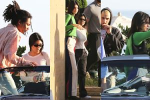 Kardashianki wybrały się na PODWÓJNĄ RANDKĘ. Obie gustują w młodszych... (ZDJĘCIA)