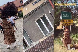 Edyta Górniak z wizytą w rodzinnym mieście. Towarzyszył jej tłum fanów
