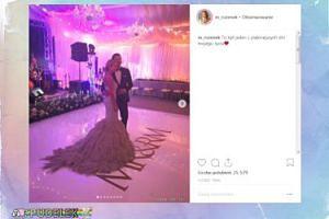 Małgonia świętuje drugą rocznicę ślubu