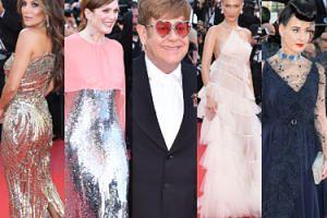 """Cannes 2019. Gwiazdy na premierze """"Rocketmana"""": Elton John, Eva Longoria, Julianne Moore, Bella Hadid (ZDJĘCIA)"""