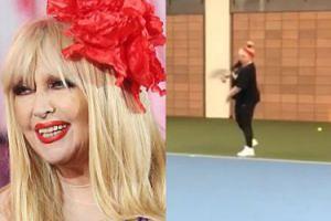 Maryla Rodowicz zachwyca kondycją podczas gry w tenisa pod okiem młodego instruktora!