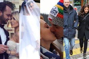 Medialne pranie brudów u Żyłów, royal wedding i sekretne zaślubiny Dody. Najgłośniejsze śluby i rozstania roku 2018 (ZDJĘCIA)