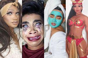 Popularny komik, ekspert od makijażu i osobowość internetowa: Bretman Rock podbija Instagram (ZDJĘCIA)