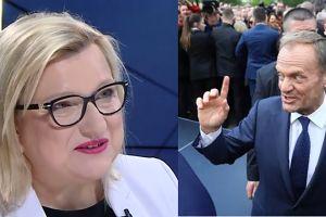 """Beata Kempa: """"Tusk mówił, że będzie kastracja pedofili, a tego nie zrobił"""""""