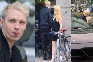 Wokalista zespołu Lemon z partnerką jeździ Lamborghini po mieście (ZDJĘCIA)