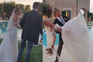David Hasselhoff pokazał zdjęcia ze ślubu z 27 lat młodszą dziewczyną (FOTO)