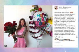 Deynn składa sobie życzenia na Instagramie