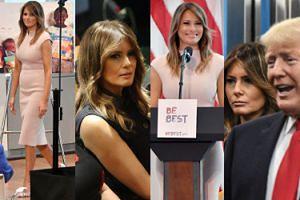 Eleganckie kreacje i NACIĄGNIĘTA TWARZ Melanii Trump na spotkaniach ONZ (ZDJĘCIA)