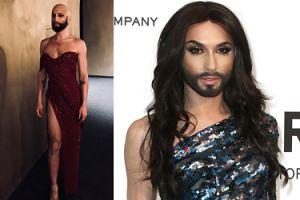 Conchita Wurst postanowiła zmienić fryzurę i… ogoliła się NA ŁYSO!