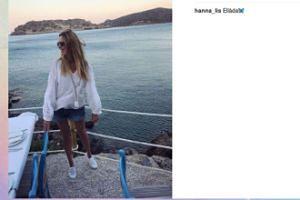 Greckie wakacje Hani Lis