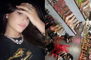 """Kylie Jenner pochwaliła się luksusowymi zakupami obuwniczymi. Fani atakują: """"Te pieniądze mogłaby wydać na ratowanie lasów Amazonii!"""""""