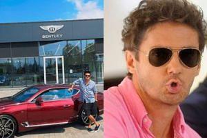Kuba Wojewódzki kupił sobie na urodziny auto za... MILION złotych (FOTO)