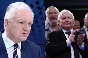 """Gowin broni Kaczyńskiego: """"Twardo stąpający po ziemi polityk, który dobrze rozumie mechanizmy gospodarcze"""""""
