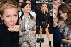 Zaintrygowane celebrytki słuchają wykładu o makijażowych trendach: Warnke, Skarbek, Rosati... (ZDJĘCIA)