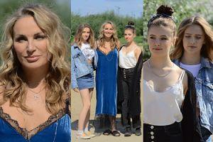 """""""Żona Hollywood"""" Eva Halina Rich promuje swoje 15-letnie córki w """"Dzień Dobry TVN"""". Podobne do mamy? (ZDJĘCIA)"""